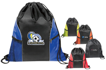 Personalized Cinch Sacks & Custom Logo Cinch Sacks
