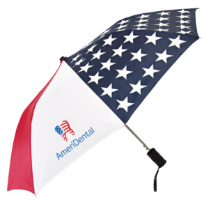 Personalized Umbrellas & Custom Printed Patriot Spectrum Folding Umbrellas