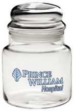 Personalized Candy Jars & Custom Logo Candy Jars