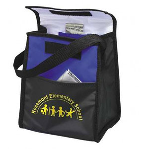 Personalized Insulated Lunch Bags & Custom Printed Vinyl Lunch Bags