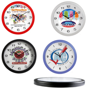 Personalized Wall Clocks & Custom Logo Wall Clocks