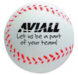Personalized Baseball Stress Relievers & Custom Printed Baseball Stress Relievers