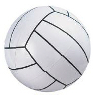 Personalized Volleyball Beach Balls & Custom Printed Volleyball Beach Balls