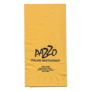 Personalized Dinner Napkins & Custom Logo Dinner Napkins
