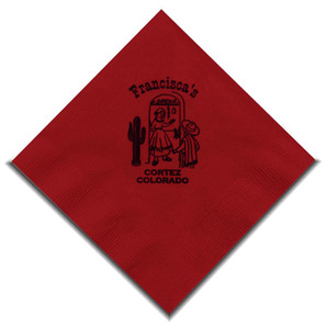 Personalized Beverage Napkins & Custom Logo Beverage Napkins