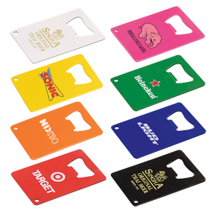 Personalized Credit Card Bottle Openers & Custom Logo Credit Card Bottle Openers