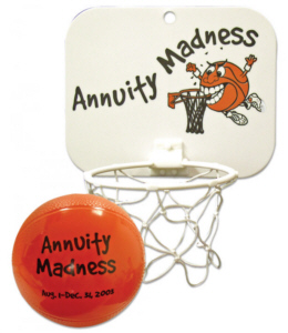 Personalized Mini Vinyl Basketball Set & Custom Printed Mini Vinyl Basketball Set