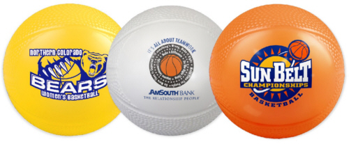 Personalized Mini vinyl Basketballs & Custom Printed Mini Vinyl Basketballs