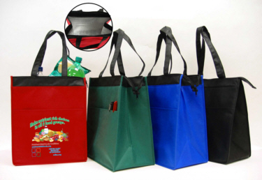 Personalized Insulated Lunch Bags & Custom Printed Insulated Hot/Cold Lunch Bags