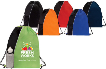 Personalized Drawstring Backpacks & Custom Logo Drawstring Backpacks
