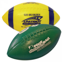 Personalized Mini Plastic Footballs & Custom Printed Mini Plastic Footballs