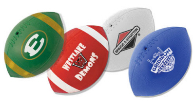 Personalized Mini Vinyl Footballs & Custom Printed Mini Vinyl Footballs