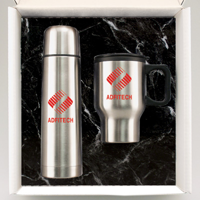 Personalized Thermoses & Custom Printed Stainless Steel Thermoses