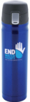 Personalized Blue Thermoses & Custom Printed Stainless Steel Blue Thermoses