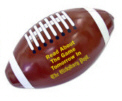 Personalized Inflatable Footballs & Custom Printed Inflatable Footballs