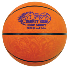 Personalized Basketballs & Custom Printed Mini Rubber Basketballs