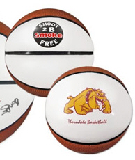 Personalized Basketballs & Custom Printed Signature Mini Basketballs