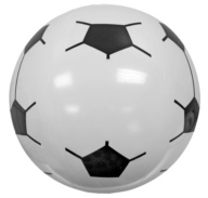 Personalized Soccer Ball Beach Balls & Custom Printed Soccer Ball Beach Balls