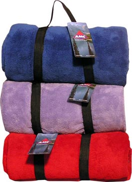 Pesonalized Super Plush Blankets & Custom Embroidered Super Plush Blankets