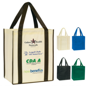 Personalized Shopping Totes & Custom Printed Shopping Totes
